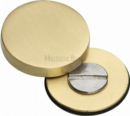 M Marcus Heritage Brass COV-12-SB Cover To Conceal Fixings Satin Brass